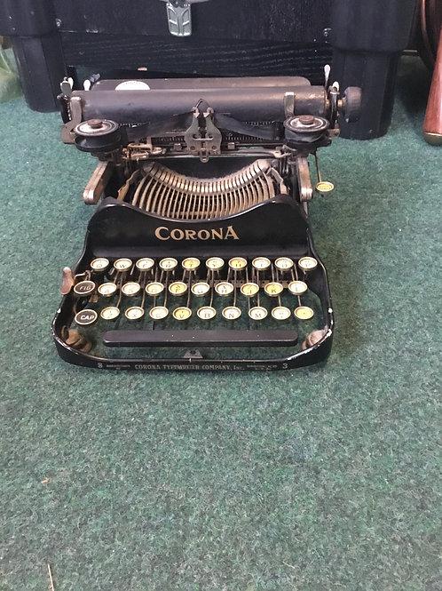 Vintage Corona No 3 typewriter