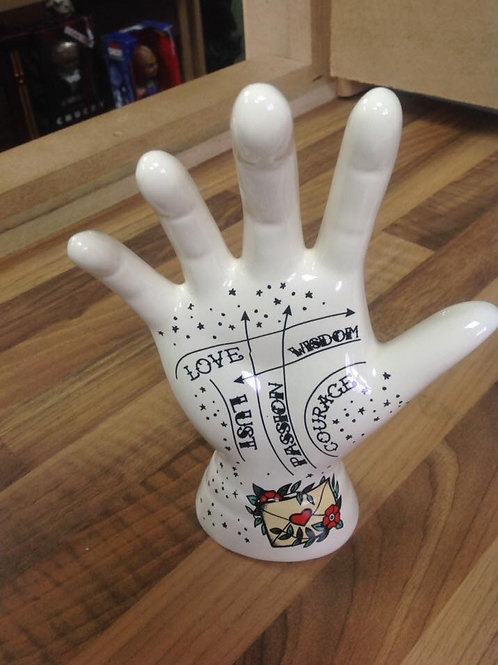 Fortune telling hands