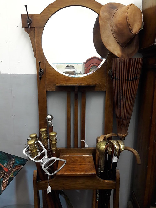 Vintage wooden coat stand