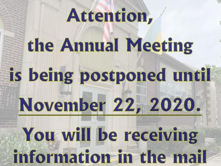 UECC Annual Meeting Announcement