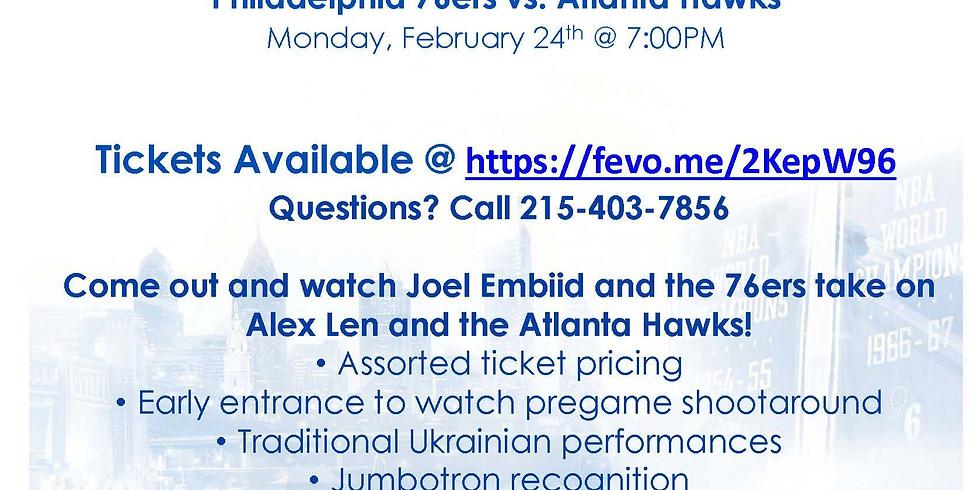 Ukrainian Heritage Night with the Philadelphia 76ers