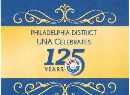 Philadelphia District UNA Celebrates 125 Years!