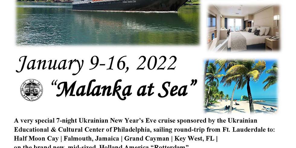 """UECC """"Malanka at Sea"""" Group Cruise 2022"""