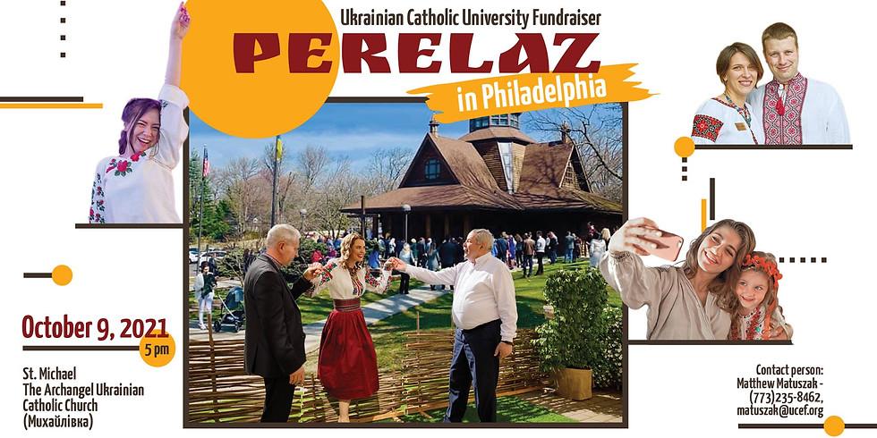 Ukrainian Catholic University Fundraiser Perelaz in Philadelphia