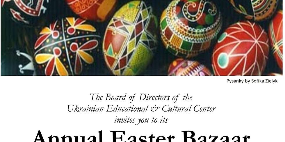 CANCELLED -Annual Easter Bazaar