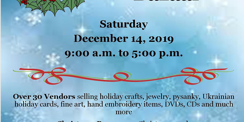 UECC - Christmas Bazaar