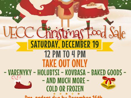 UECC Christmas Food Sale