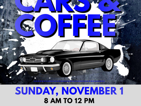 Cars and Coffee at the UECC