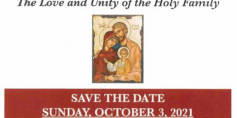 2021 Pilgrimage to the Mother of God
