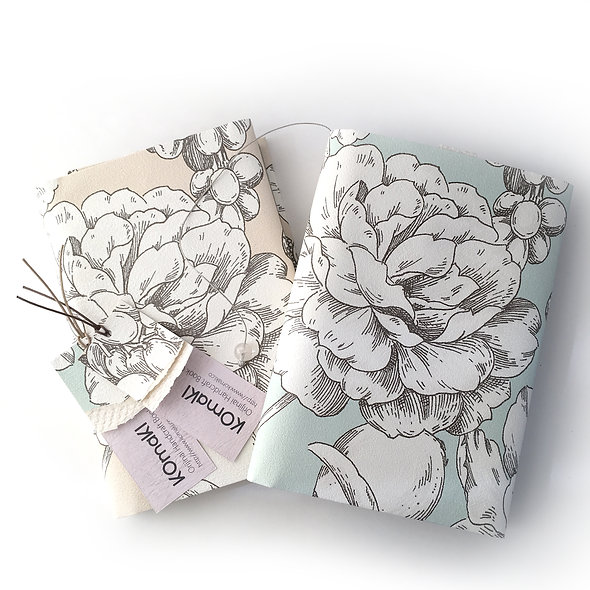 BOOK COVER Shabby Chic Garden