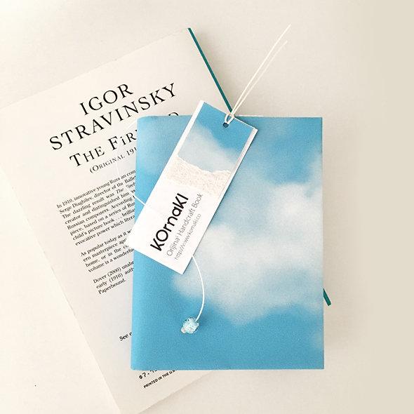 BOOK COVER BLUE SKY