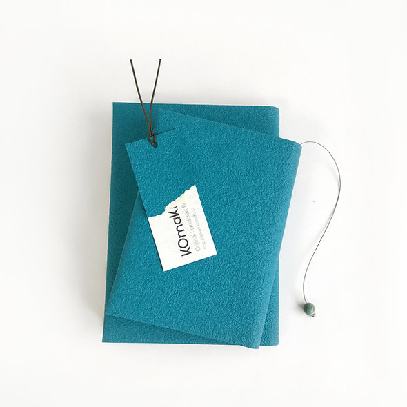 TURQUOISE BOOKCOVER