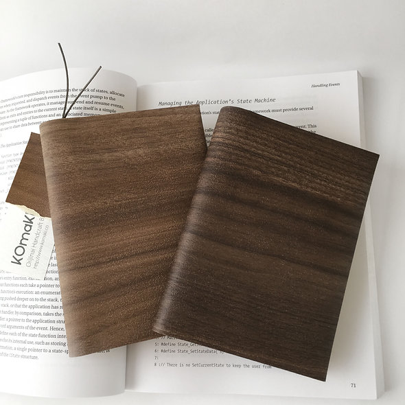 NATURAL WOOD BOOK COVER  Simpler