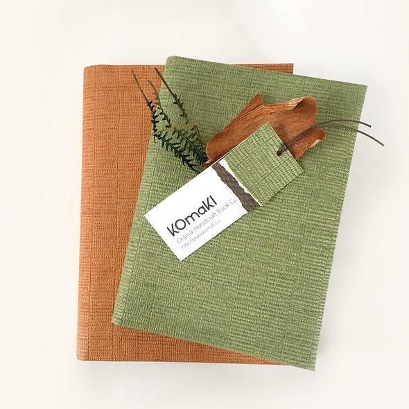 BOOK COVER KAKI & UGUISU Simpler
