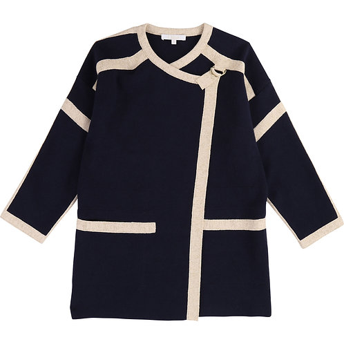 C16350/849 CHLOÉ GIRLS KNITTED JACKET