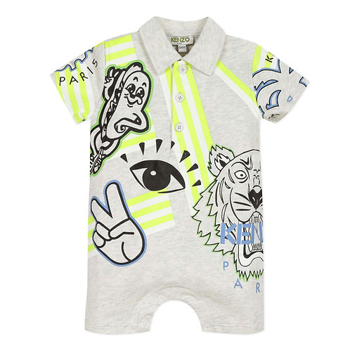 KQ33507/23 KENZO BABY BOYS ALL IN ONE