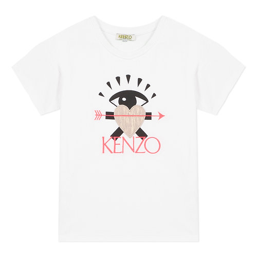 KQ10148/01 KENZO KIDS GIRLS TEE SHIRT
