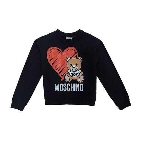 LDA16/60100 MOSCHINO KIDS GIRLS LONG SLEEVE T-SHIRT
