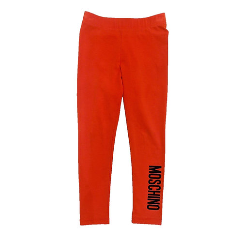 LBA10/50316 MOSCHINO KIDS GIRLS LEGGING