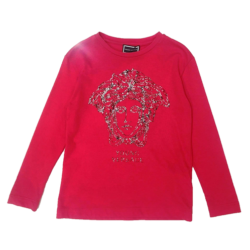 YVMTS232/Y4285 VERSACE BOYS LONG SLEEVE T-SHIRT