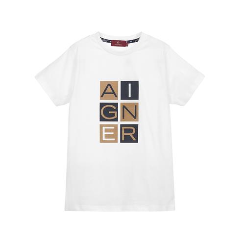 53203/001  AIGNER KIDS BOYS T- SHIRT
