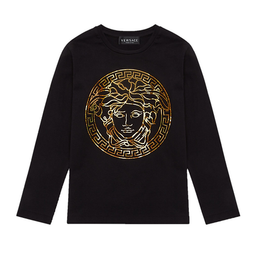 YD000262/A2003 VERSACE BOYS LONG SLEEVE T SHIRT