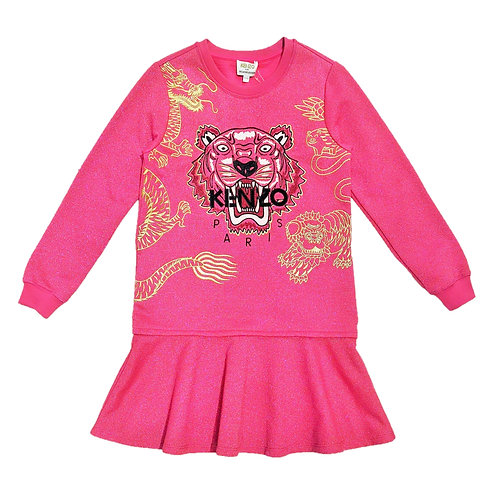 KN30258/35 KENZO KIDS GIRL DRESS