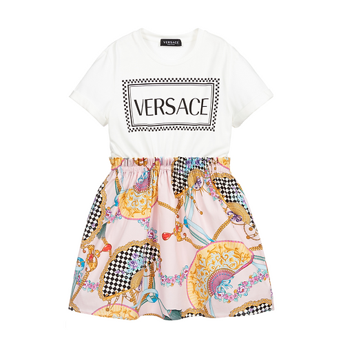 YC000412/A1002 VERSACE GIRLS DRESS