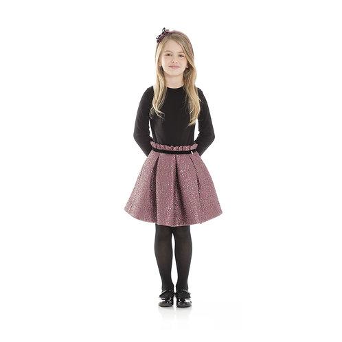 4J1520JA/009 LANVIN GIRLS MINI COUTURE DRESS