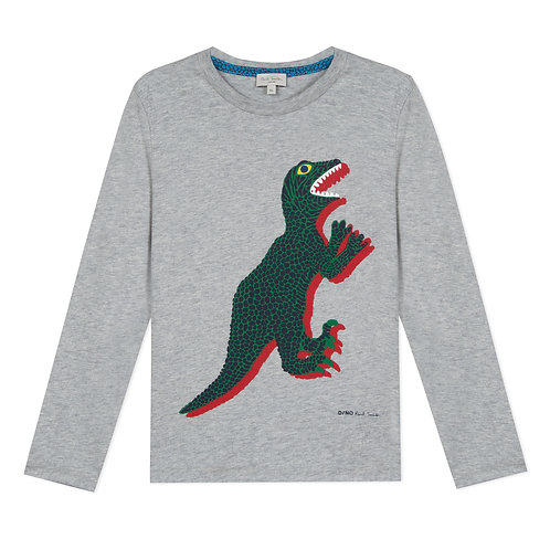 5P10612/240 PAUL SMITH JUNIOR BOYS LONG SLEEVE TEE-SHIRT