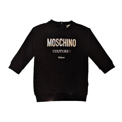 LDA016/60100 MOSCHINO BABY GIRLS DRESS