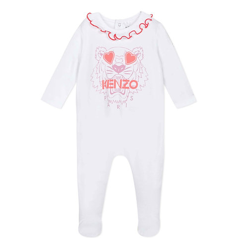 KQ54013/01 KENZO BABY GIRLS ROMPER