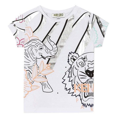 KQ10128/01 KENZO BABY GIRLS TEE SHIRT