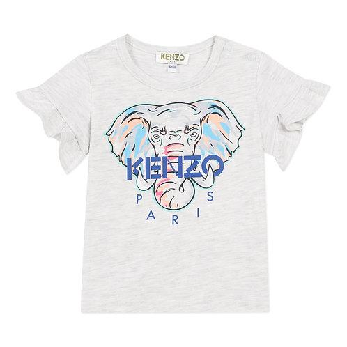 KQ10067/23 KENZO BABY GIRLS TEE SHIRT