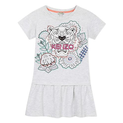 KQ30218/23 KENZO KIDS GIRLS DRESS