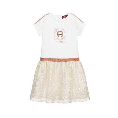 52219/458 AIGNER KIDS GIRLS DRESS