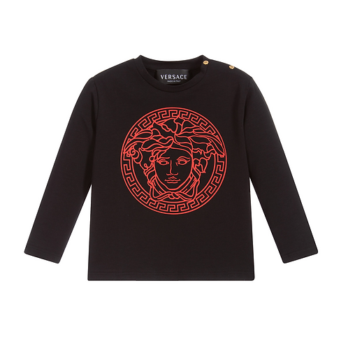 YB000210/A7041 VERSACE BABY LONG SLEEVE T-SHIRTS