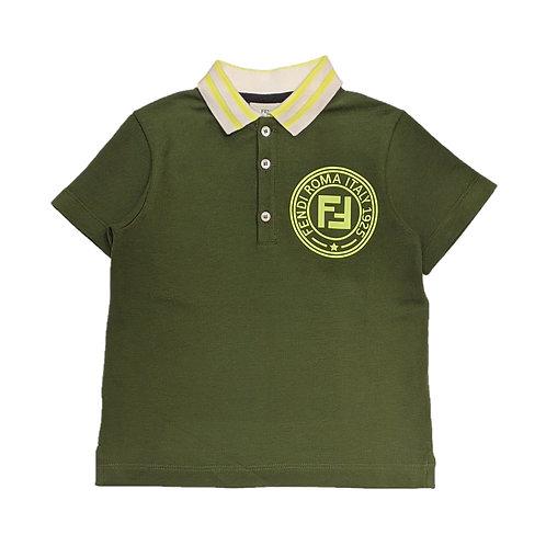 JM1271/F16WC FENDI KIDS POLO SHIRT