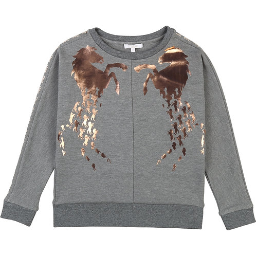 C15A70/A38 CHLOÉ KIDS GIRLS SWEATSHIRT