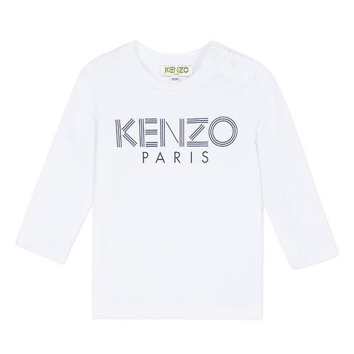 KP10577/01 KENZO BABY BOYS LONG SLEEVE TEE-SHIRT
