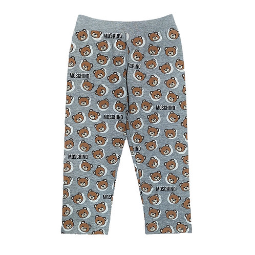 LBB26/82552 MOSCHINO BABY UNISEX LONG TROUSERS