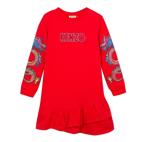 KP30078/38 KENZO KIDS GIRLS DRESS