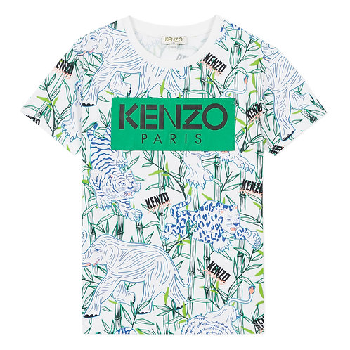 KQ10588/01 KENZO KIDS BOYS TEE-SHIRT