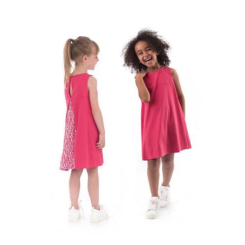 4K1682KA/005 LANVIN GIRLS DRESS