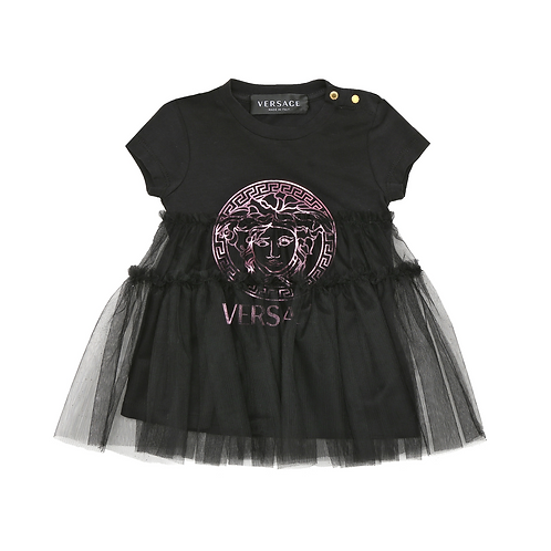 YA000175/A7269 VERSACE BABY GIRLS DRESS