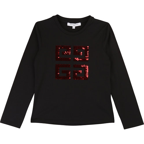 H15127/09B GIVENCHY LONG SLEEVE T-SHIRT