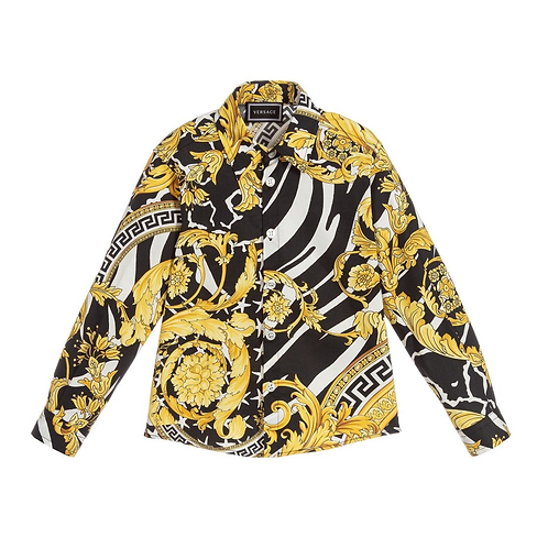 YD000055/YA743 VERSACE BOYS LONG SLEEVE SHIRT