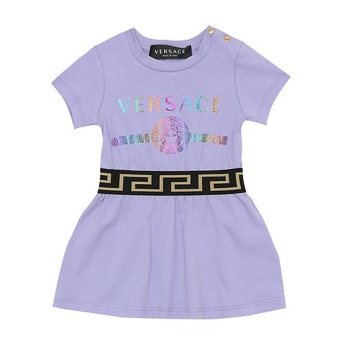 YA000220/A1313 VERSACE BABY GIRLS DRESS