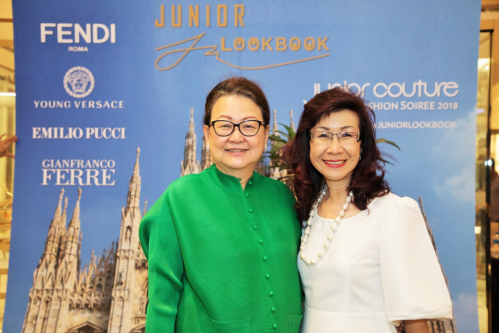 Dato' Joyce Yap - CEO of Pavilion KL and Ms. Florence Fang - Managing Director of Malaysia Tatler