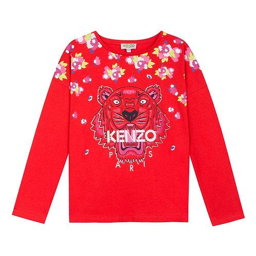 KP10198/38 KENZO KIDS GIRLS TEE-SHIRT